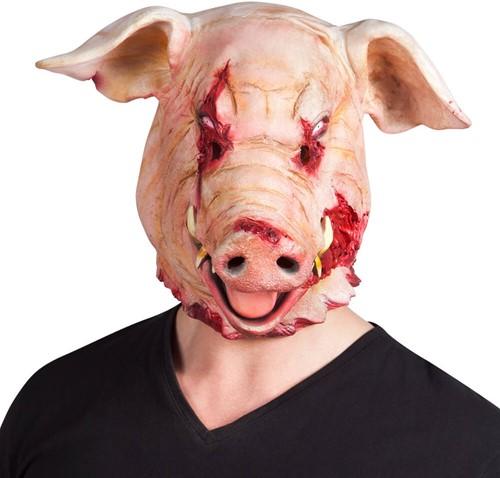 Latex Bloody Varken Masker