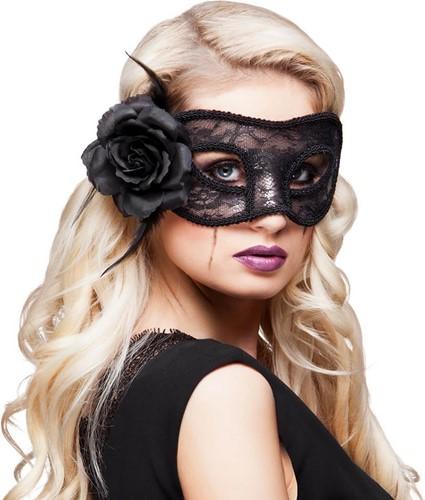 Mystique Oogmasker Zwart