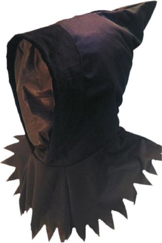 Halloween Ghoul Masker met Kap