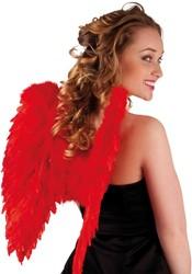Engelenvleugels Rood (50x50cm)