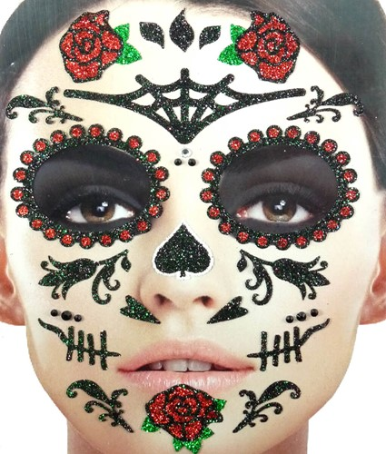 Stickers Gezicht Day of the Dead
