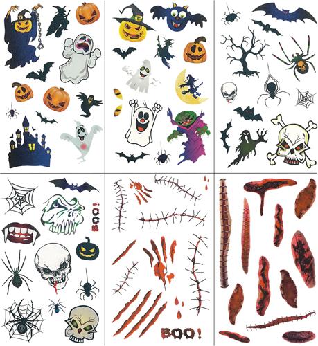 Tattoo Halloween  (12st.)