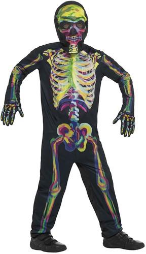 Kinderkostuum Skelet Glow in the Dark