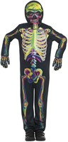 Kinderkostuum Skelet Glow in the Dark-2