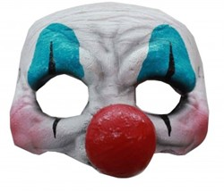 Latex Halfmasker Clown