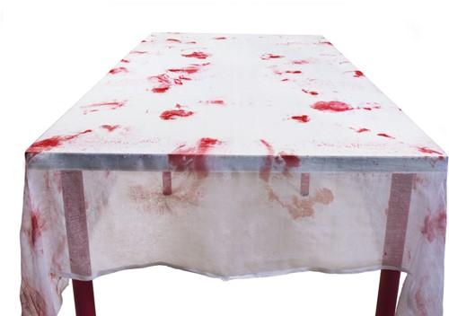 Bloody Halloween Tafelkleed Polyesther (150x180cm)