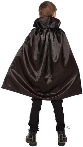 Cape Dracula Rood-Zwart voor kinderen-2