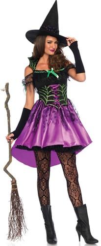 Spiderweb Witch Dames Heksenjurk