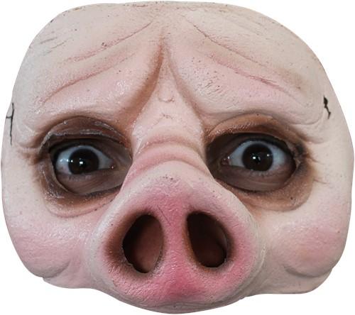 Latex Halfmasker Varken