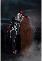 Skeletten jurk Halloween voor dames-2
