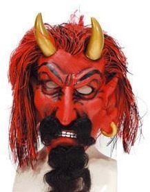 Duivel Masker met Horens