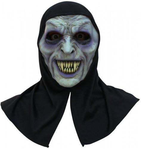 Halloween Masker Ghoul Latex met Capuchon