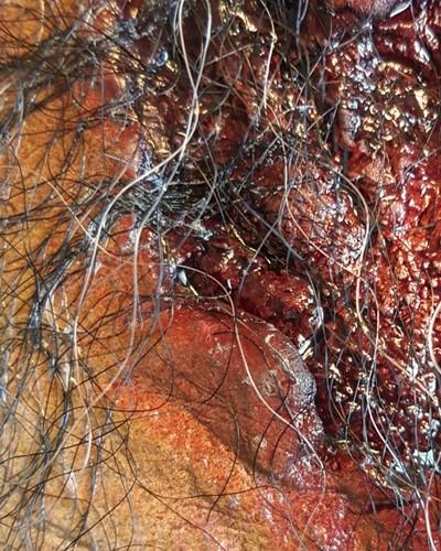 Halloween Zombie Mortus Masker Luxe (latex)-2