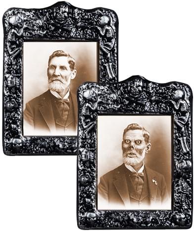 Schilderij Horror Oudere Man (Holografisch)