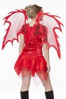 Vleugels Duivel Rood