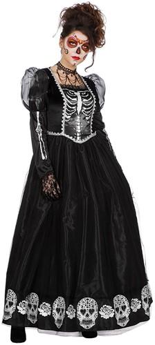Damesjurk Princess of the Dark (Dia de los Muertos)
