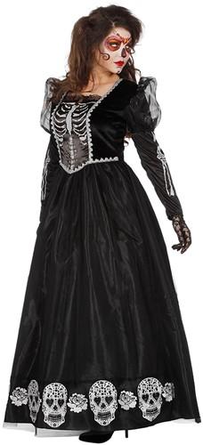 Damesjurk Princess of the Dark (Dia de los Muertos)-2
