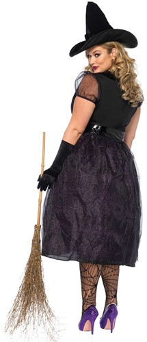 Heksenjurk Darling Spellcaster voor dames (achterkant (2))