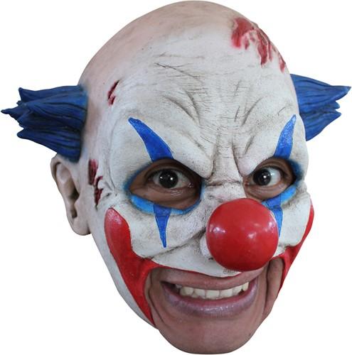 Masker Scarred Clown Latex (Kinloos)