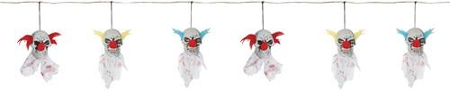 Slinger met Scary Clown Skulls (166cm)