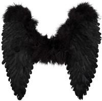 Engelenvleugels Zwart (50x50cm)-2