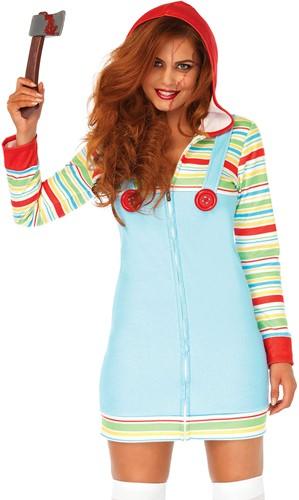 Halloween Dameskostuum Cozy Killer Doll -2