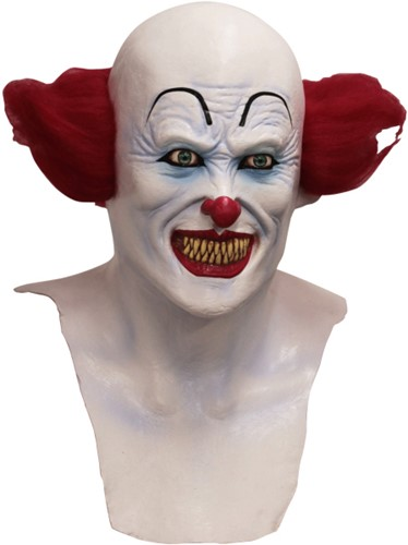 Masker Scary Clown It Latex Luxe