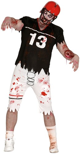 Halloweenkostuum American Football Player Zombie