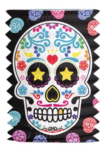 Lampion Day of the Dead (16cm)