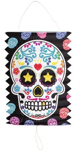 Lampion Day of the Dead (16cm)-2