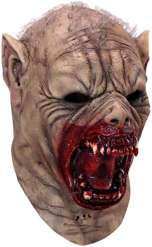 Latex Masker Halloween Farkaz (luxe)