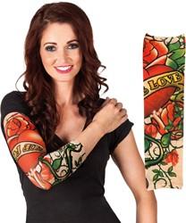 True Love Tattoo Mouw