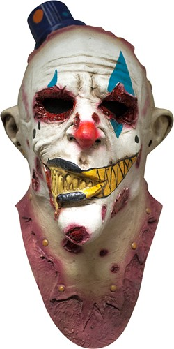 Mime Zack Clown Masker Luxe (latex)