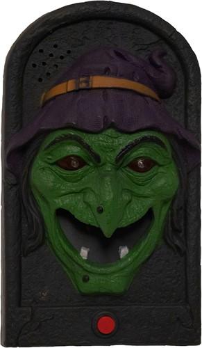 Deurbel Halloween Heks (geluid + licht)