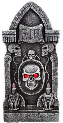 Grafsteen RIP met Skull 90cm (met verlichting)