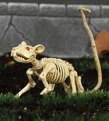 Rattenskelet Halloweendeco (20cm)