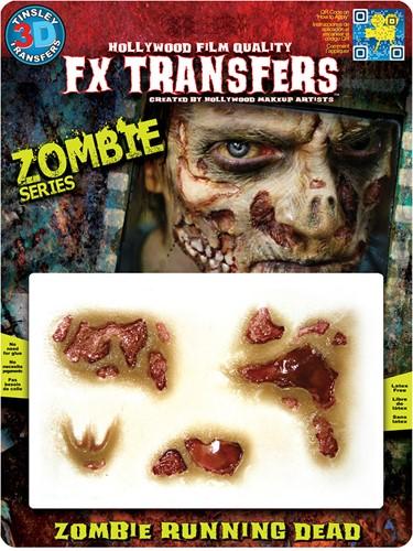Wond Zombie Running Dead (professioneel)