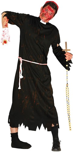 Halloweenkostuum Zombie Pastoor