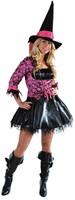 Dameskostuum Sexy Heks Pink Skull-2
