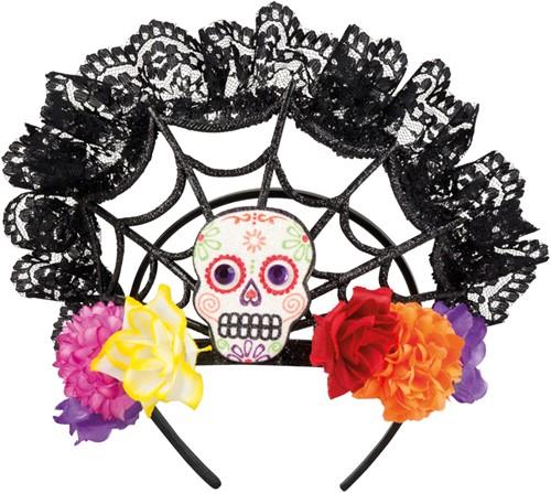 Halloween Tiara Calavera