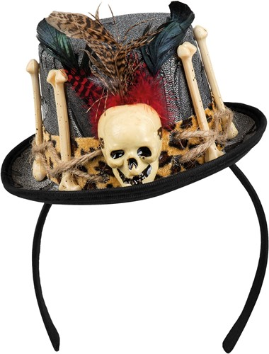 Voodoo Hoedje op Diadeem Luxe