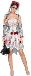 Halloween Jurk Zombie Bruid voor dames