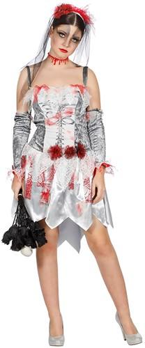 Jurk Halloween Zombie Bruidsjurk voor dames