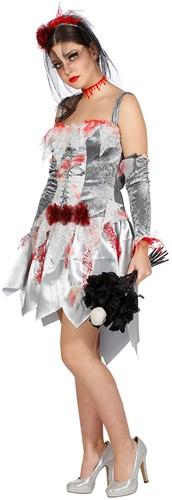 Halloween Jurk Zombie Bruid voor dames -2