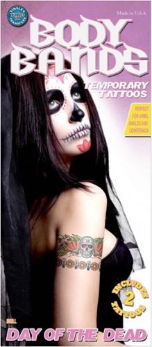 Day of the Dead Skull Arm Tattoos (set van 2)