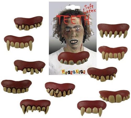 Tanden Latex Horror Assorti
