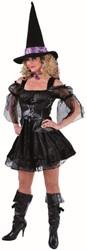 Dameskostuum Sexy Zwarte Heks