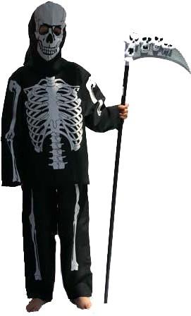 Skelettenpak voor kinderen