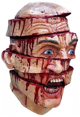 Sliced Halloween Masker Latex (luxe)