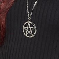 Halsketting Pentagram-2